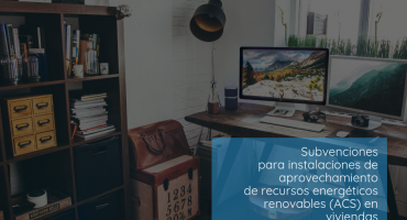 Publicacion de las subvenciones para instalaciones de aprovechamiento de recursos energeticos renovables (ACS) CARMsubvenciones para instalaciones de aprovechamiento de recursos energeticos renovables (ACS)
