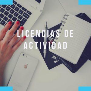 Licencias de Actividad